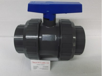 110 mm double union ball valve