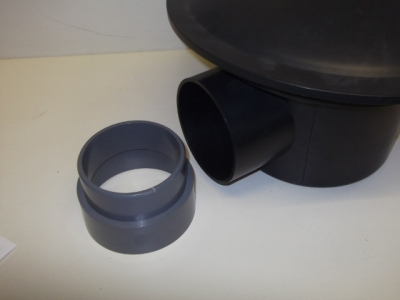 "bottom drain 4"" pressure adaptor 110 mm"